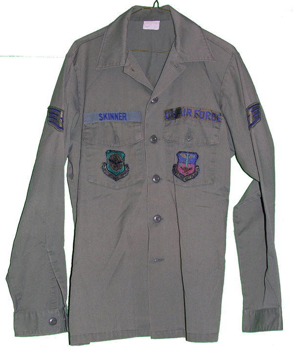 US Air Force Shirt with patches