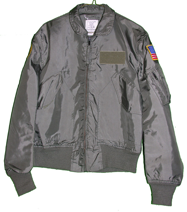 USAF CWU-36/P Flight Jacket with patches