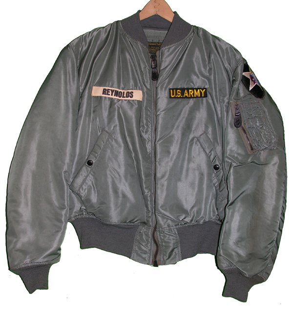 US Army MA-1 Flight Jacket with patches