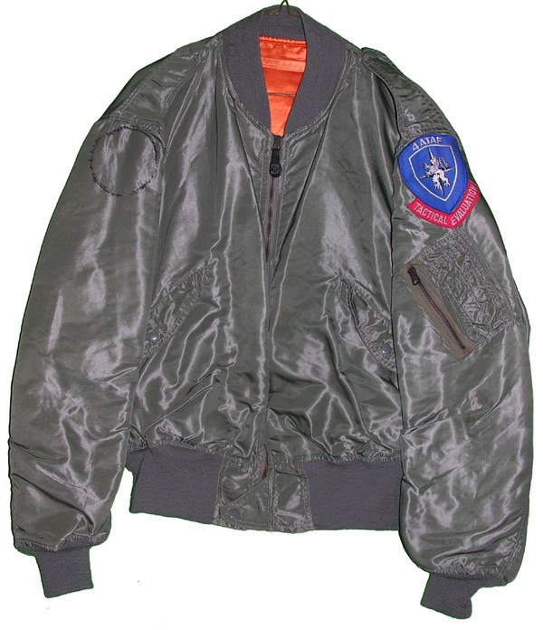 USAF L-2B Flight Jacket with 44TAF patch