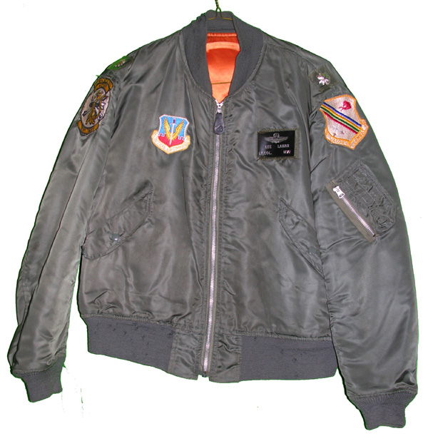 USAF L-2B Flight Jacket with patches