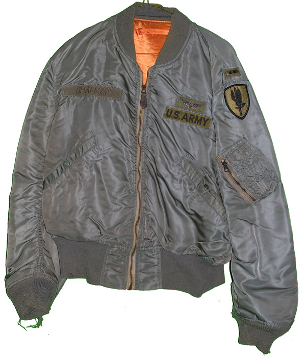 US Army L-2B Flight Jacket with patches