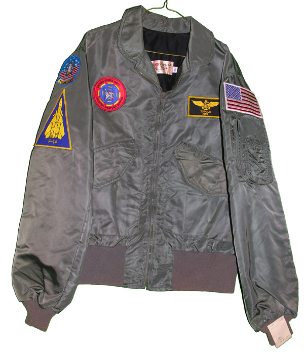 Private Purchase USAF Flight Jacket with patches