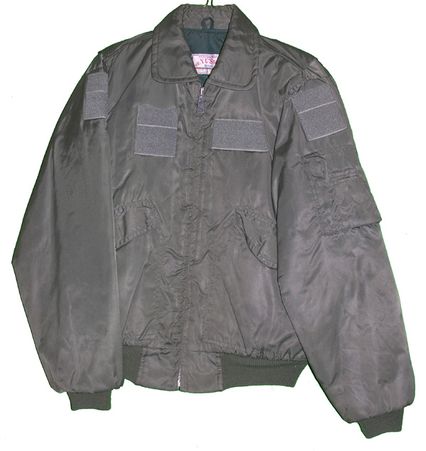 Theater Made Private Purchase USAF Flight Jacket with patches and F-4 Aircraft embroidered on rear