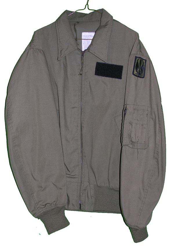 US Army Lightweight Flight Jacket with patches