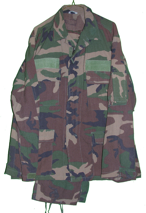 US Camo Tunic and Trousers
