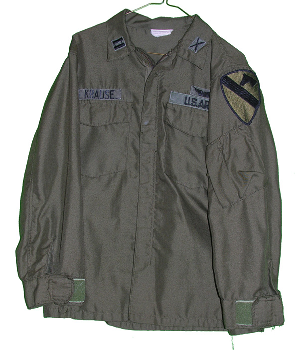 US Army Nomex Helicopter Shirt with patches