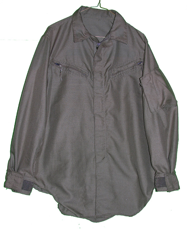 US Army Nomex Helicopter Shirt with zippers