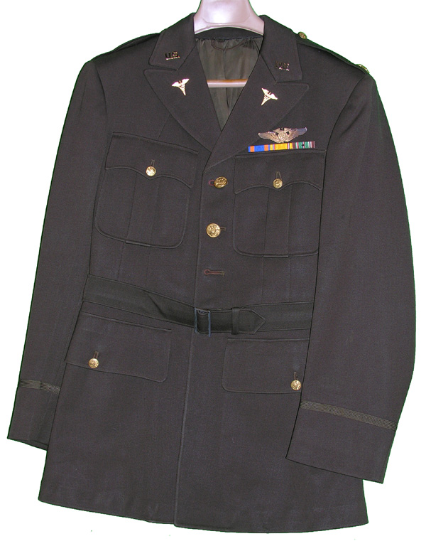 USAAF Flight Surgeon's Dress Tunic with insignia
