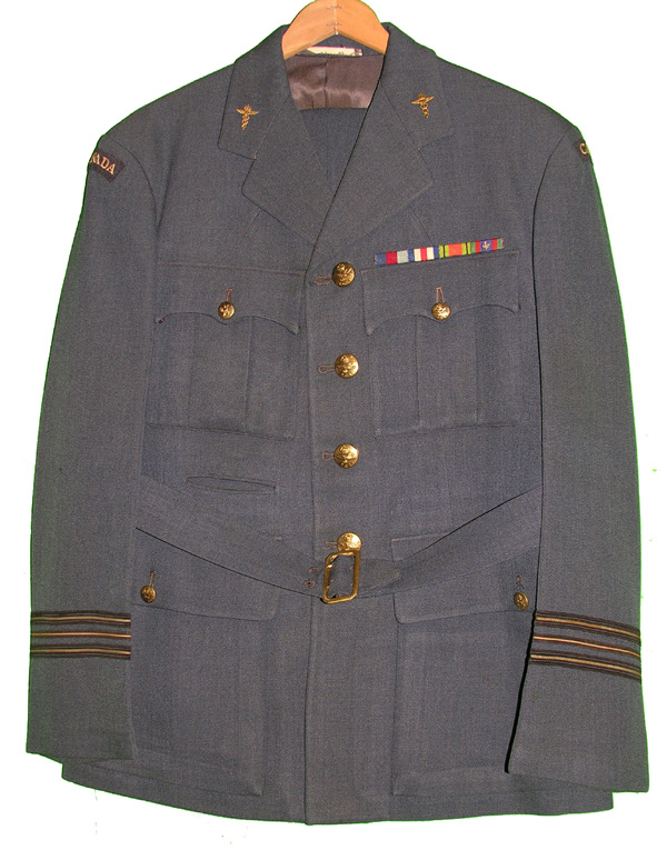 RCAF Flight Surgeon's Dress Tunic and Trousers
