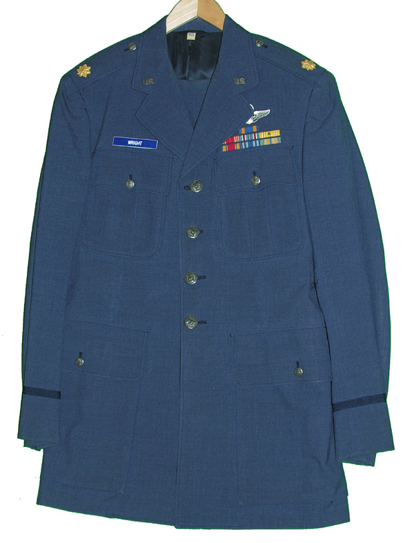 USAF Major's Dress Tunic and Trousers with Insignia