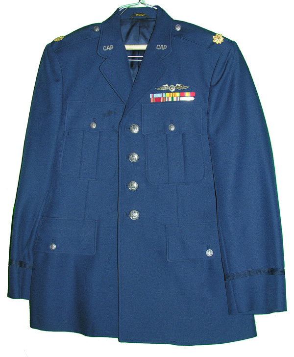 Civil Air Patrol Major's Dress Tunic with Insignia