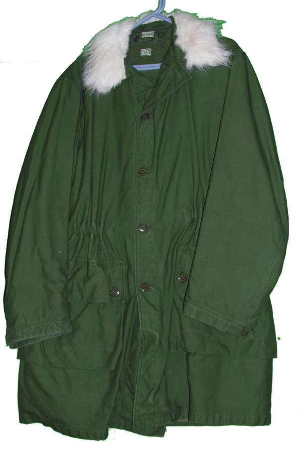 Swedish Vindrock Parka with fur collar and liner