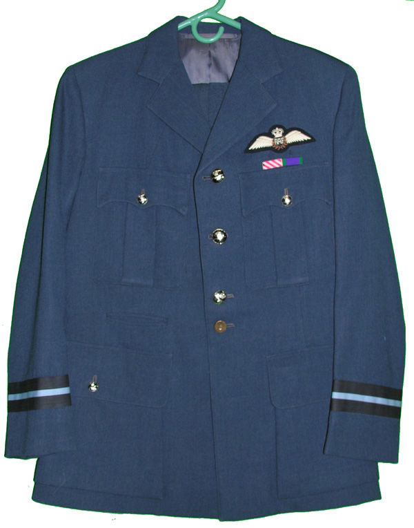 RAF Dress Tunic and Trousers