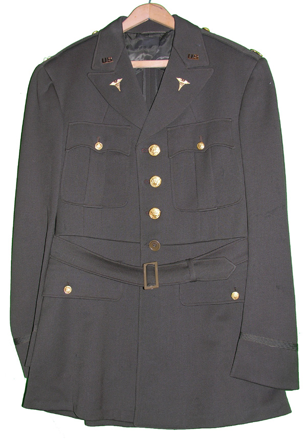 USAAF Flight Surgeon's Dress Tunic with insignia and shirt