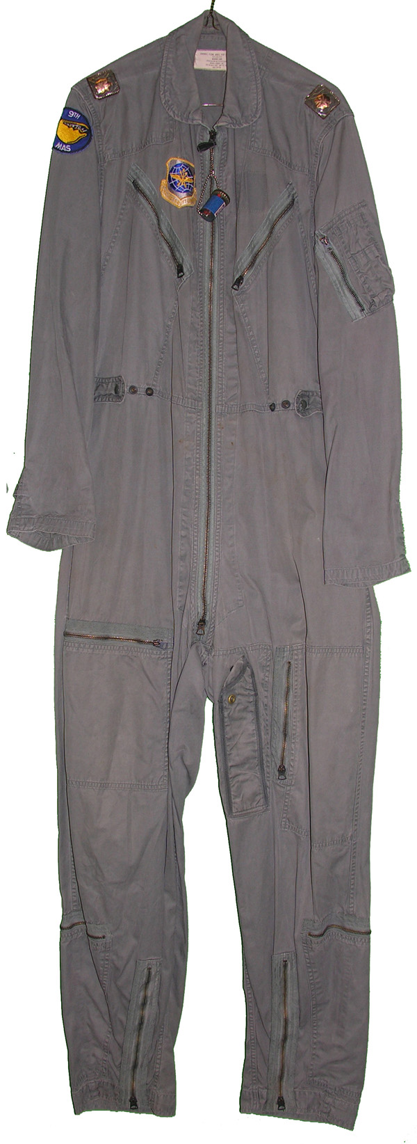 USAF K-2B Flight Suit with patches