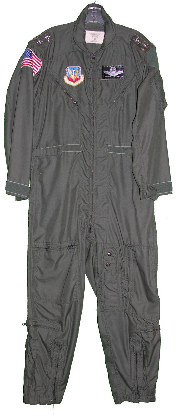 USAF CWU-27/P Flight Suit - named to 2 Star General - with insignia