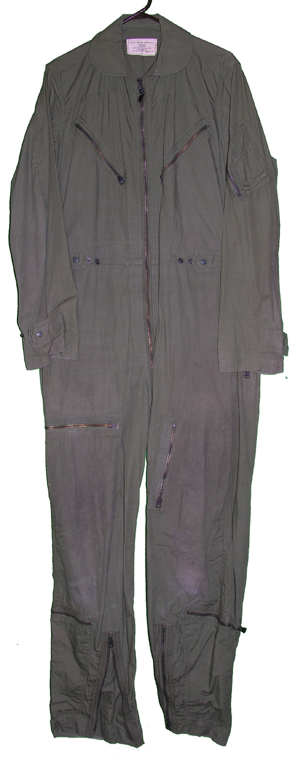 USAF Green Poplin Flight Suit OG107