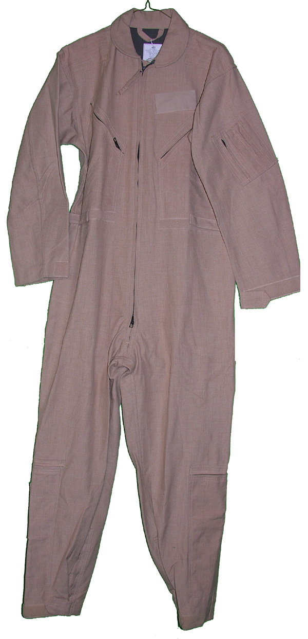 Tan Groundcrew Protective Coveralls CWU-77/P