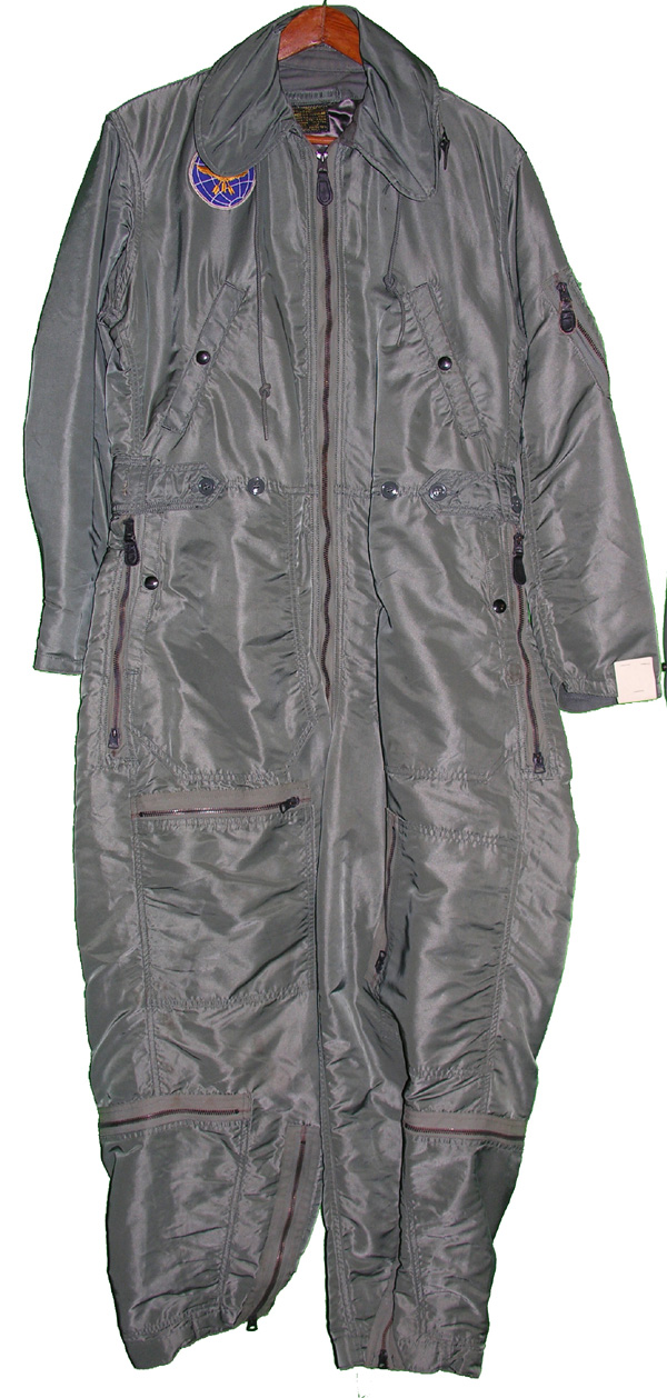 USAF Insulated CWU-1/P Flight Suit with patch