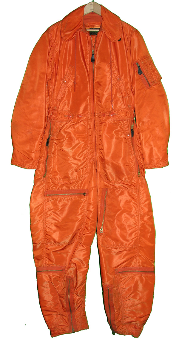 USAF Orange CWU-1/P Insulated Flight Suit