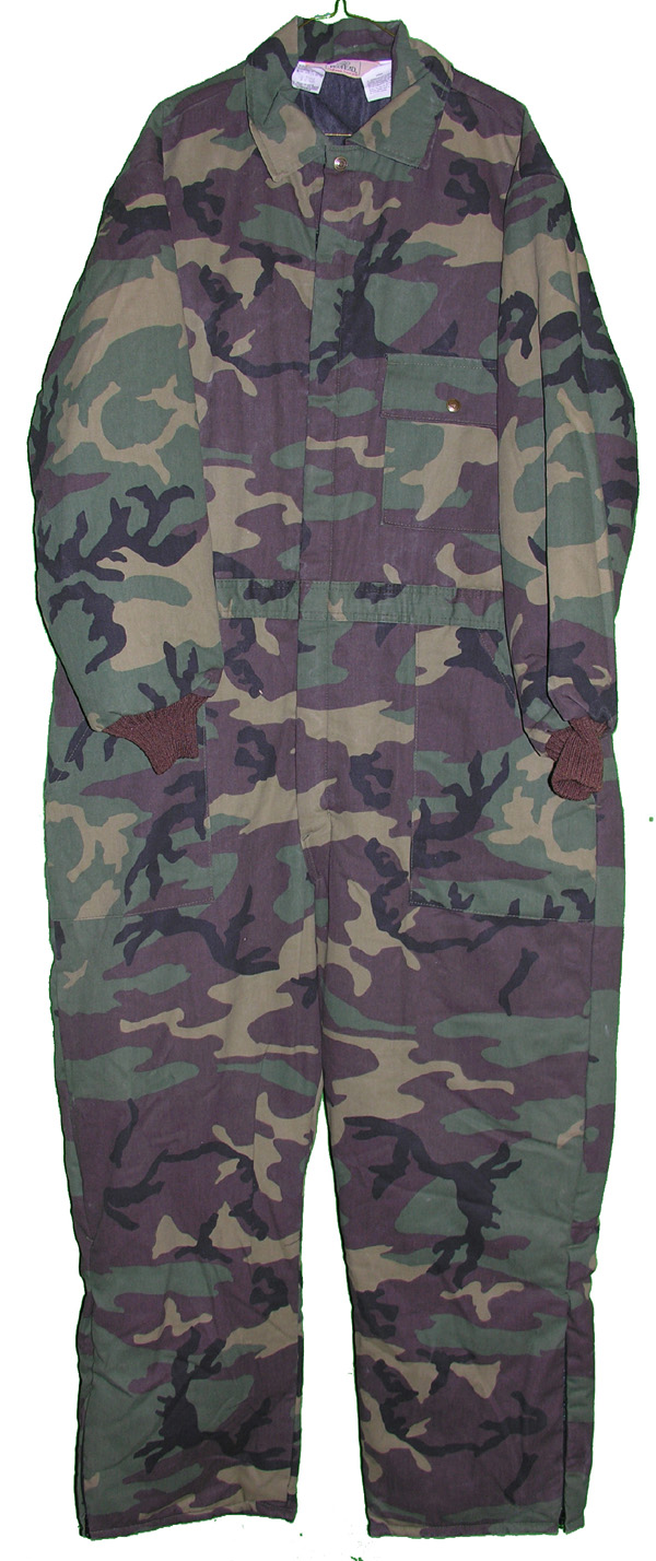 Private Purchase 1 Piece Camo Hunting Suit