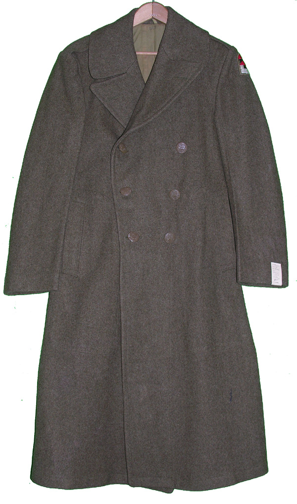 WWII US Army Enlisted Wool Overcoat