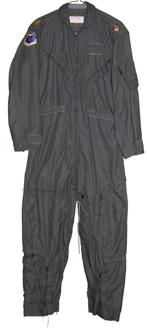 USAF CWU-27/P Flight Suit with patches