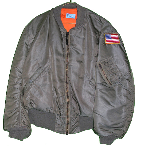 USAF MA-1 Flight Jacket with patch