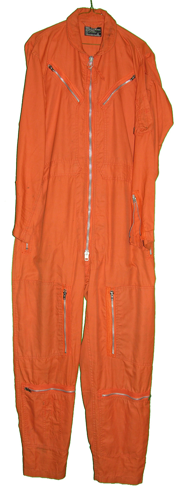 US Navy Indian Orange Flight Suit