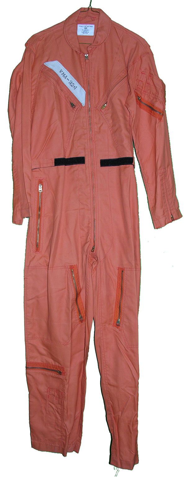 US Navy Indian Orange Flight Suit from VMA-324