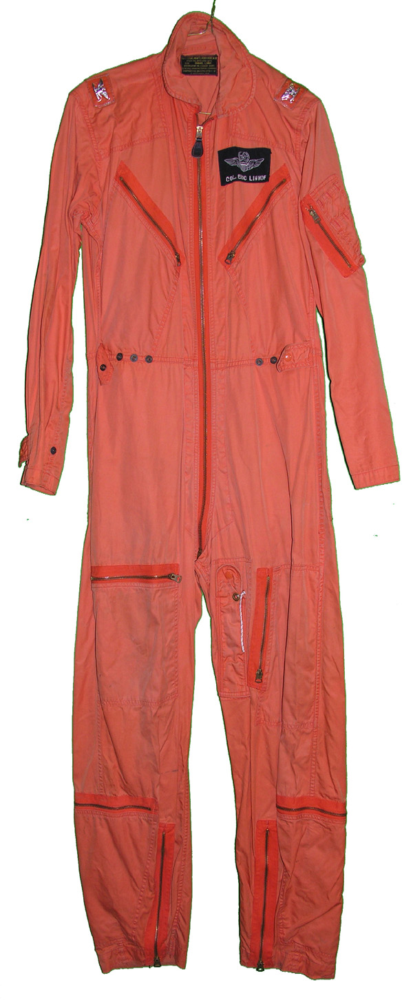 USAF Indian Orange K-2B Flight Suit with nametag