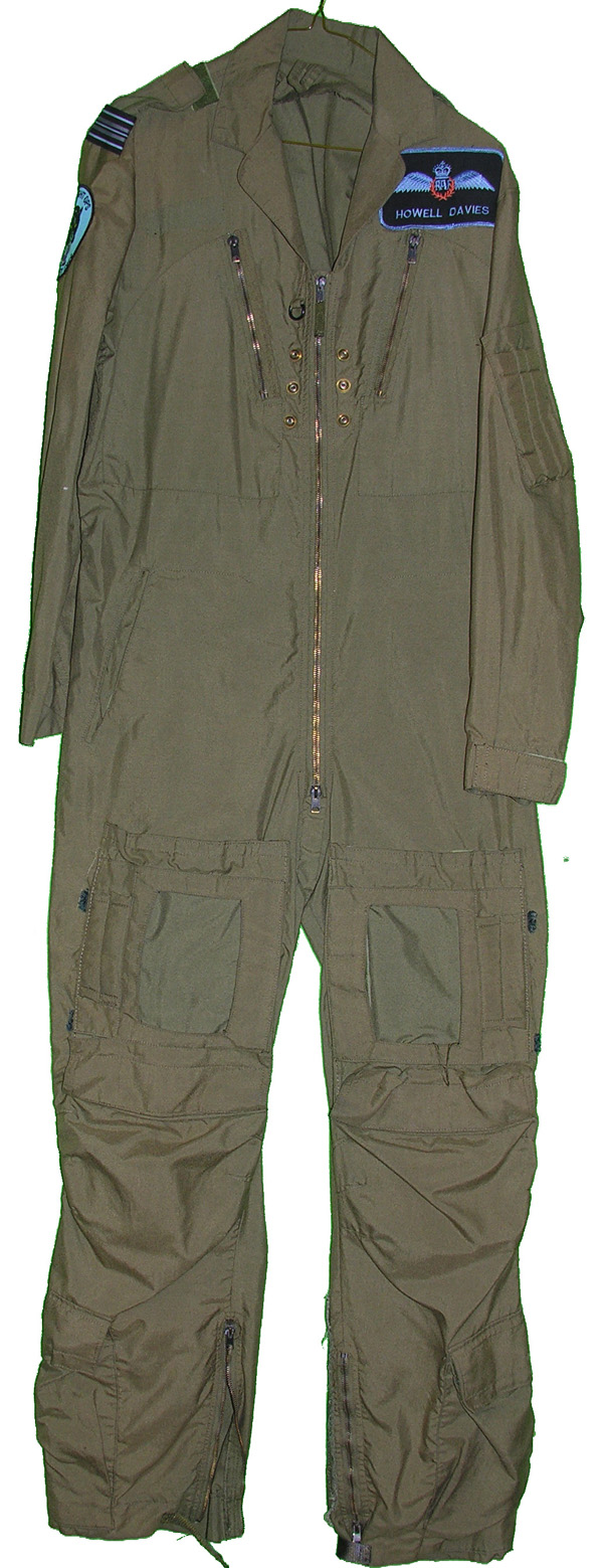 British MK14A Flight Suit with patches from 299 Alley Cats