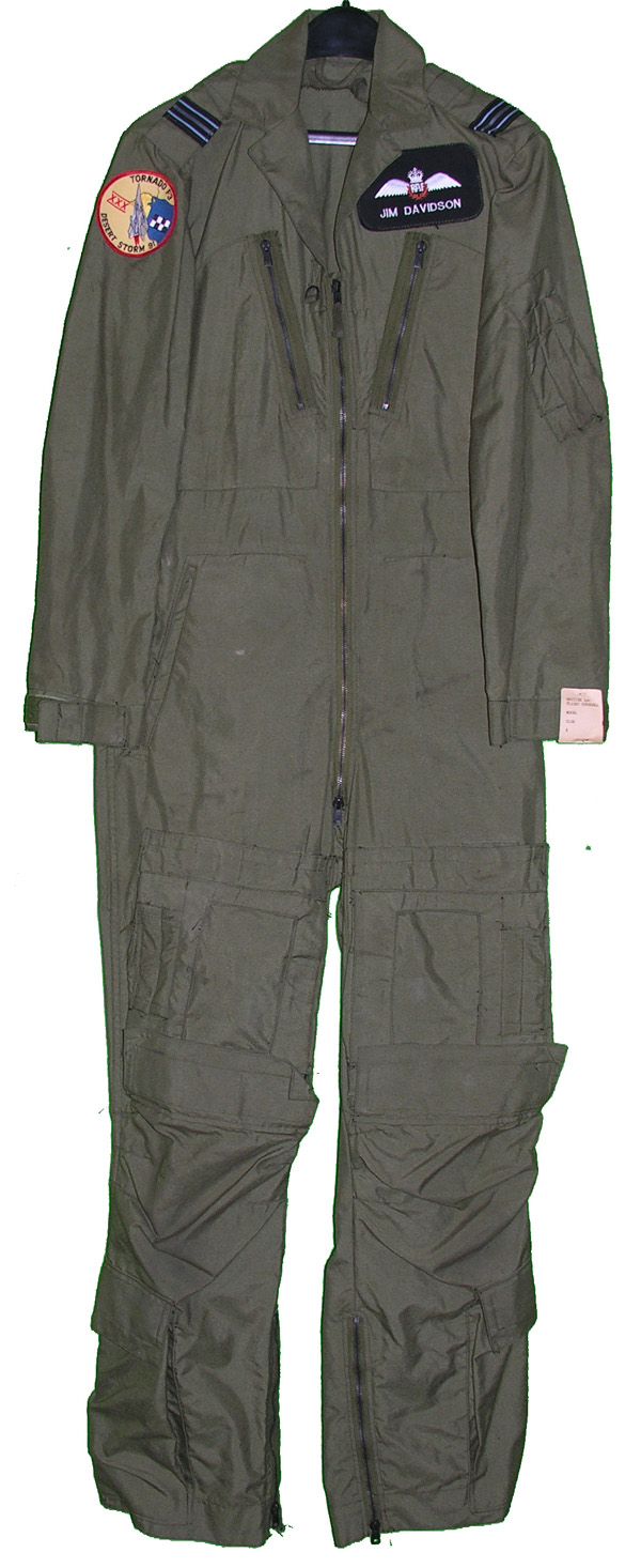 British MK14A Flight Suit with patches from Tornado F3