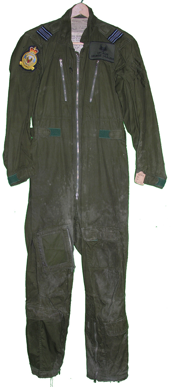 British MK9 Flight Suit with patches from 1(F) Squadron