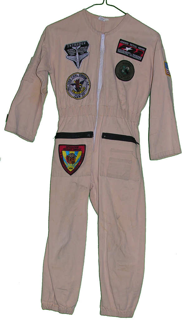 Child's Flight Suit with patches