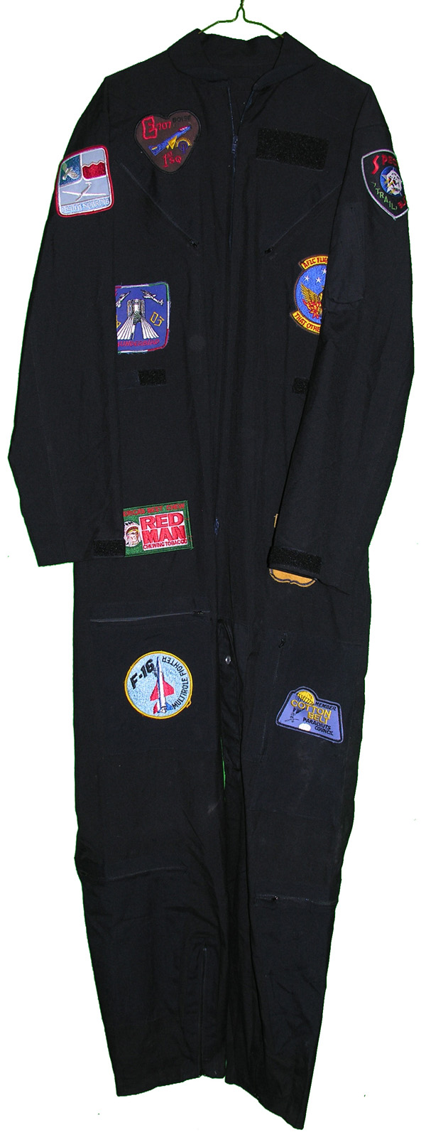 Party Flight Suit with patches