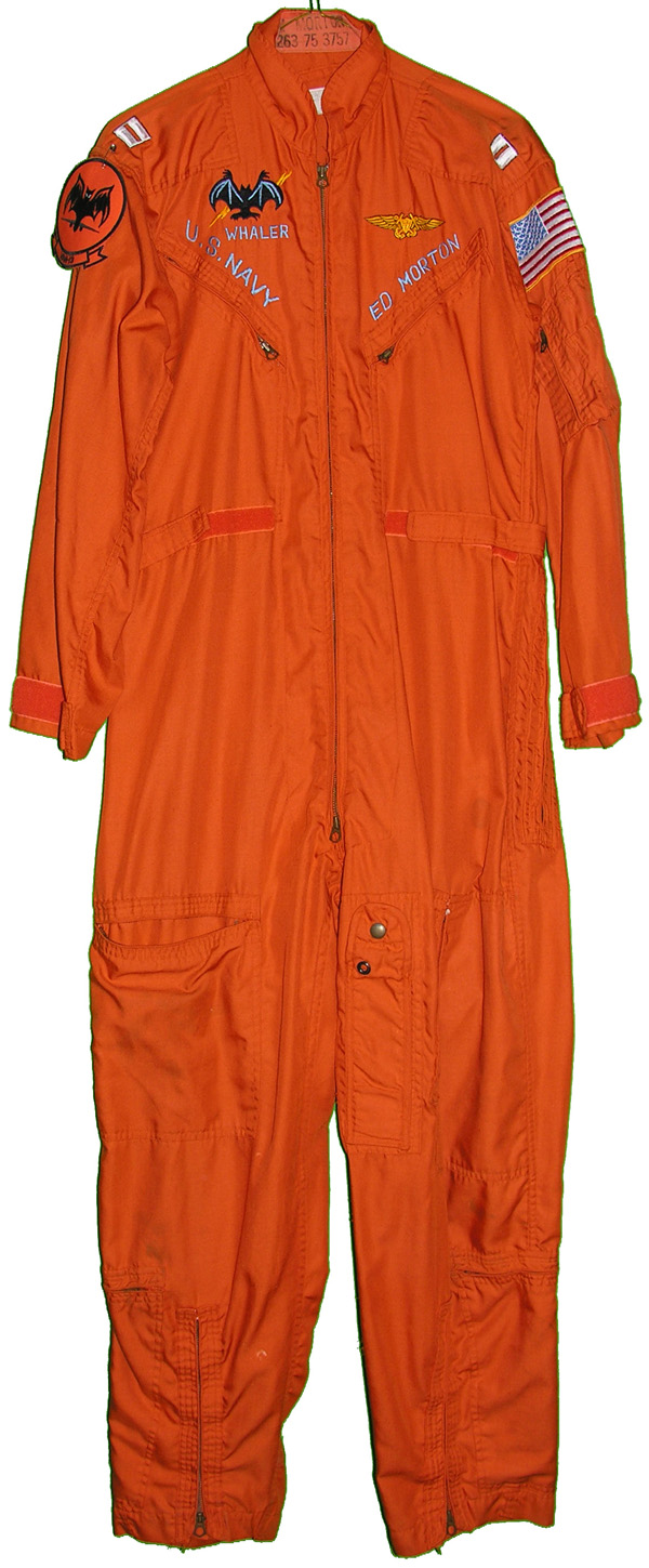 US Coast Guard Orange Flight Suit with embroidered wings