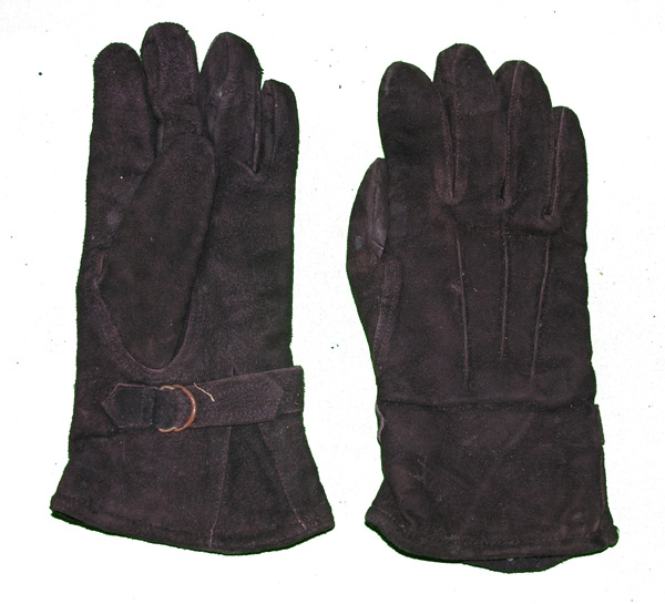 Russian Leather Flight Gloves