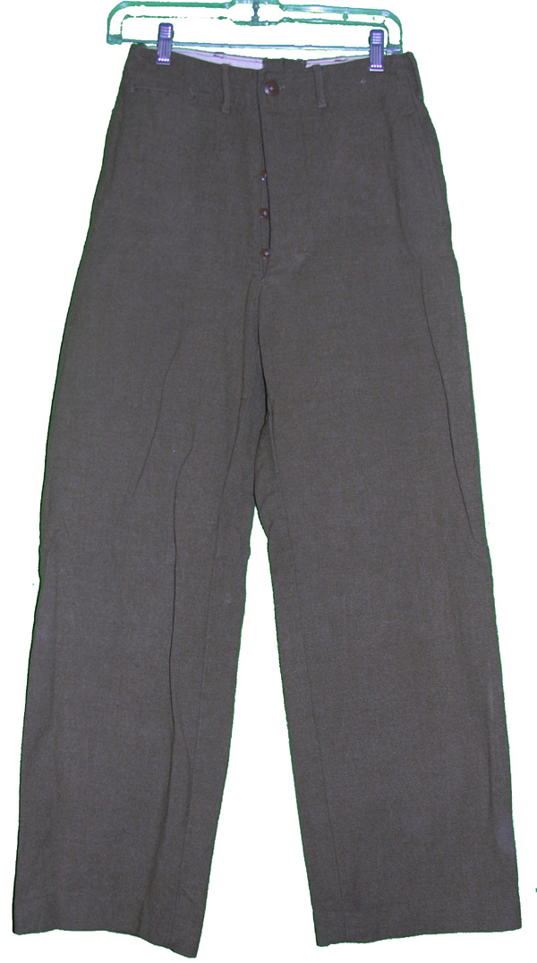 US Wool Trousers