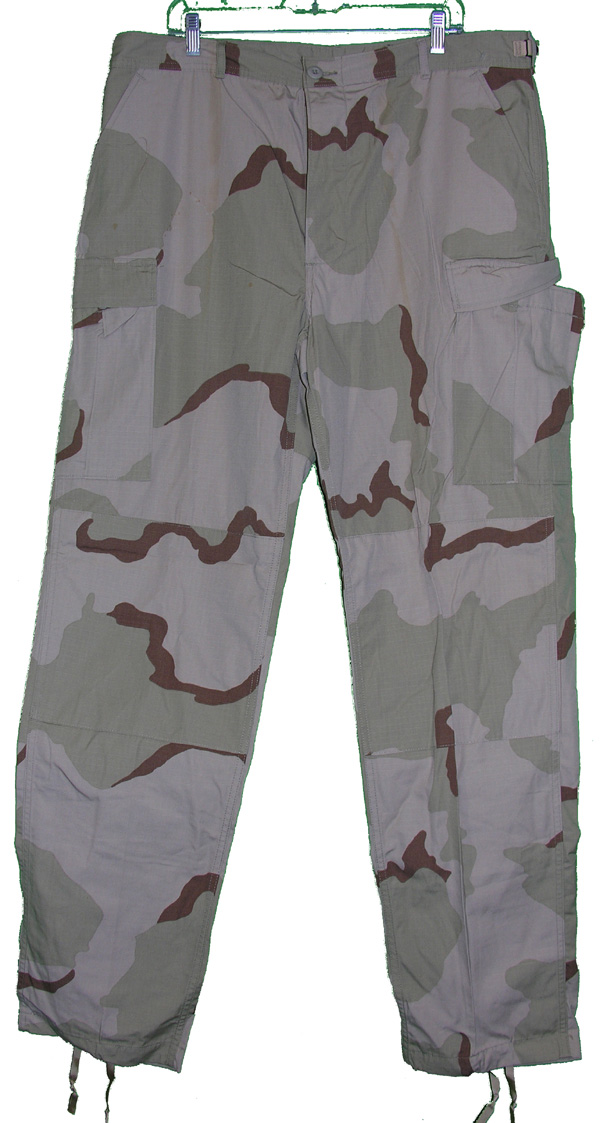 US Army Desert Camo Trousers