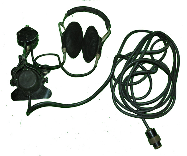 US Navy Sound Powered Headset