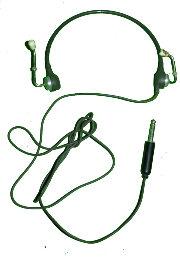 Old Military Headset
