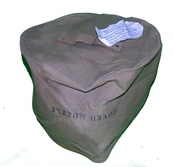 Muzzle Cover for 8 Howitzer Carriage M-1