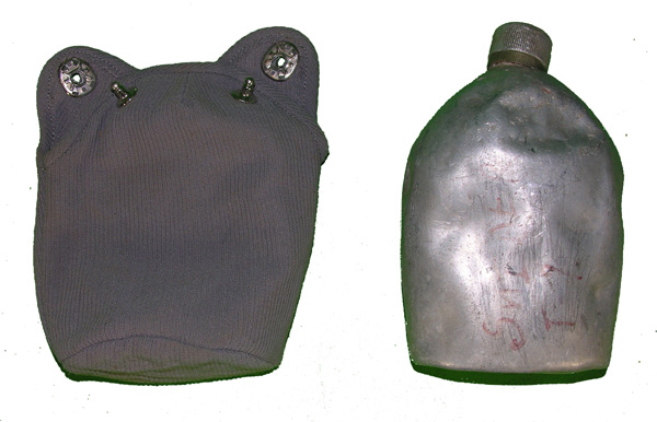 US GI Canteen with Case