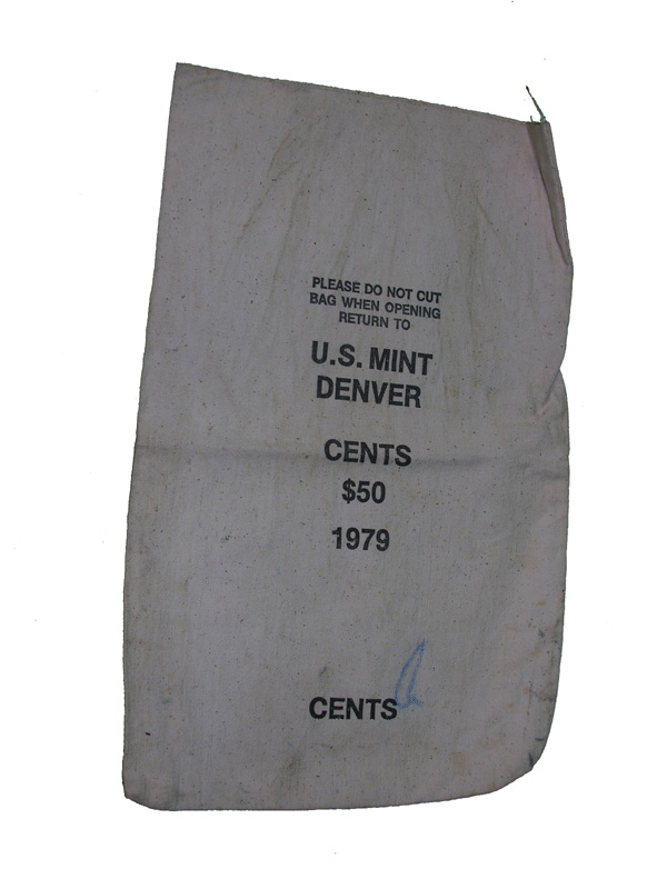 US MINT Coin Bag from Denver