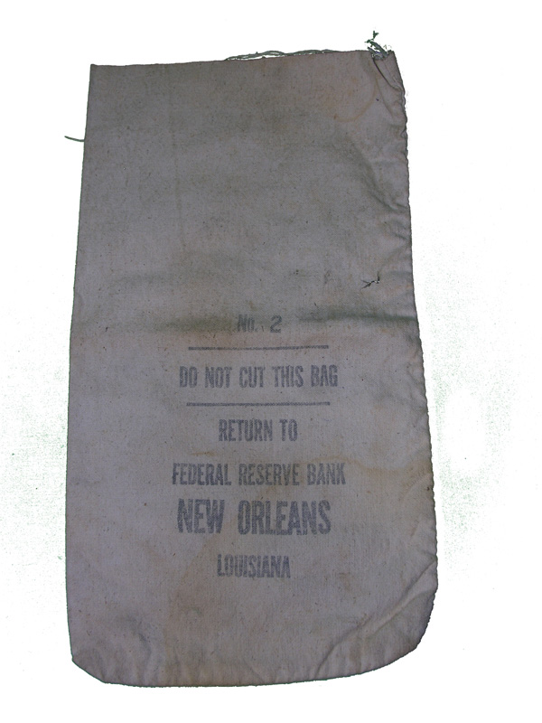 US MINT Coin Bag from New Orleans