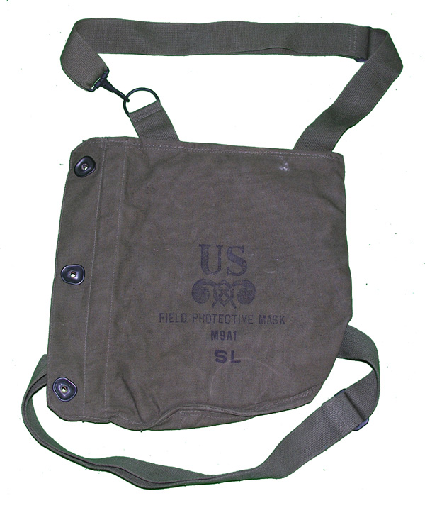 US M9A1 Gas Mask Bag