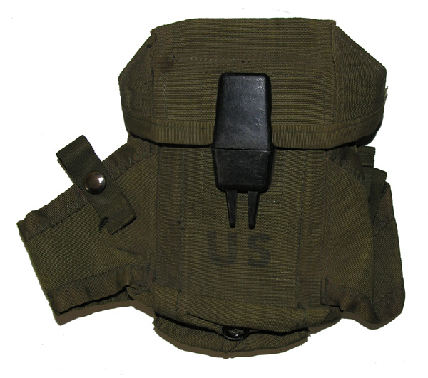 US GI Clip Pouch for web belt
