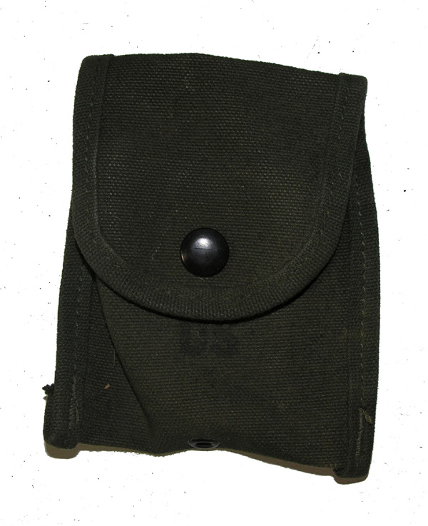 US GI Small Web Belt Pouch for Compass